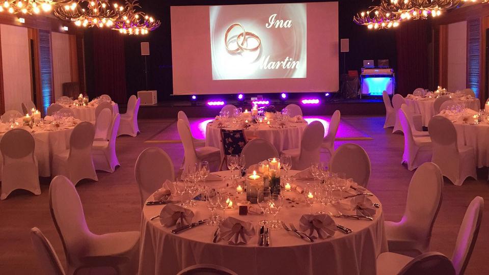 Forca Event Management - Galaveranstaltung / Hochzeit