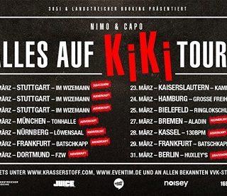 Forca - Nimo Alles auf KiKi Tour 2018